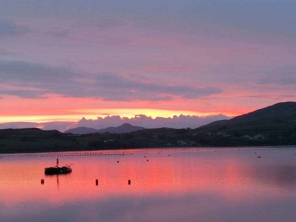 Sunset on Mulroy Bay